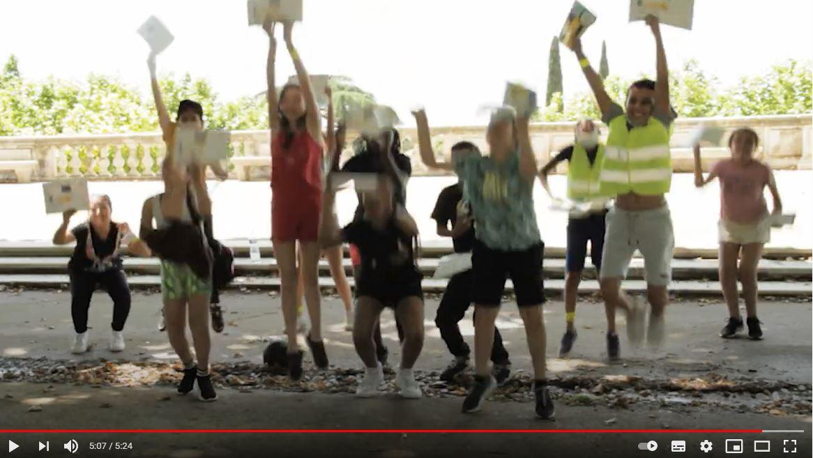 Capture Le Bonheur a Velo Savoir Rouler IMV Montpellier
